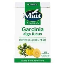 Matt Integratore Garcinia Cambogia Alga Fucus