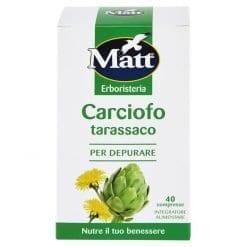 Matt Integratore Carciofo Tarassaco