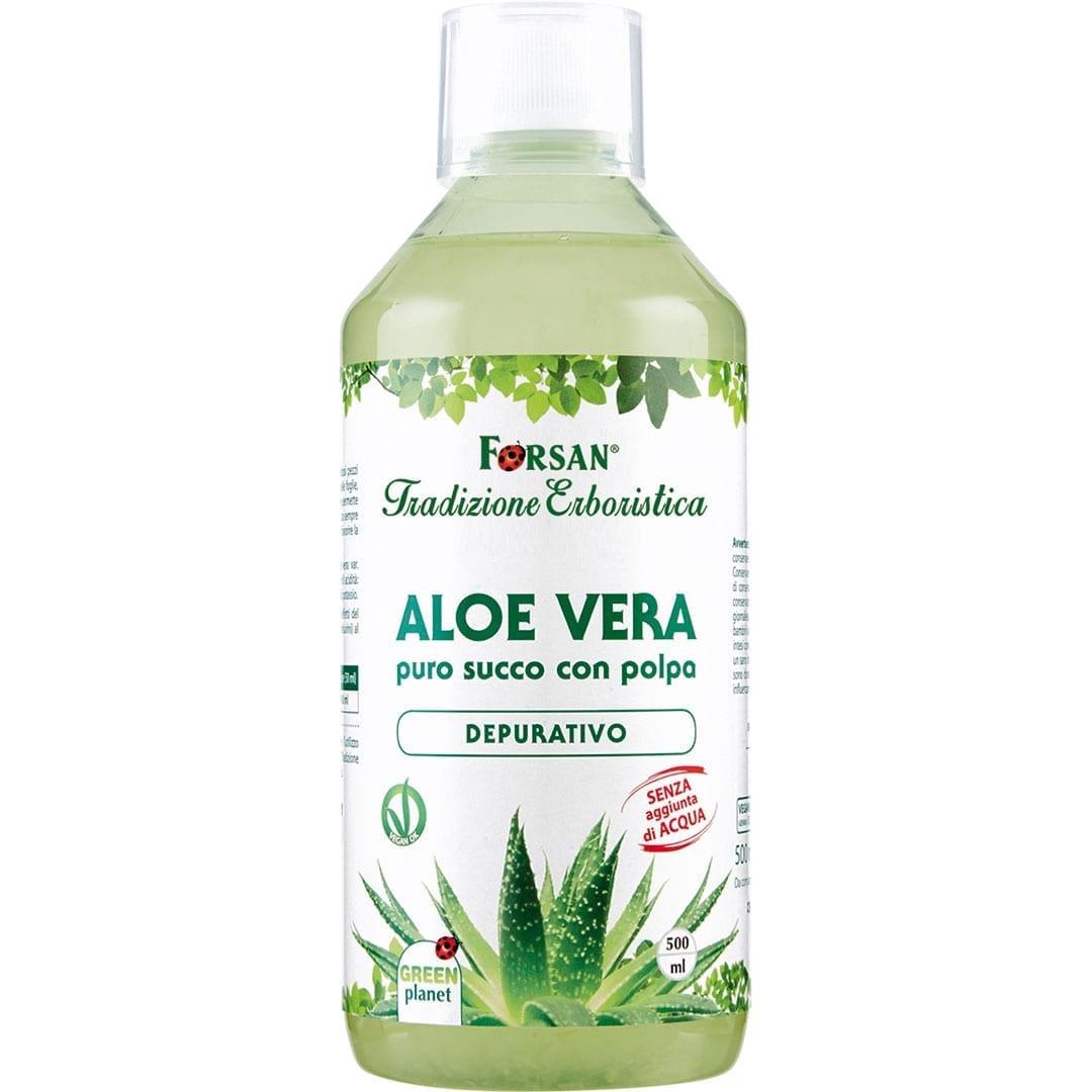 Forsan - Aloe Vera Succo con Polpa