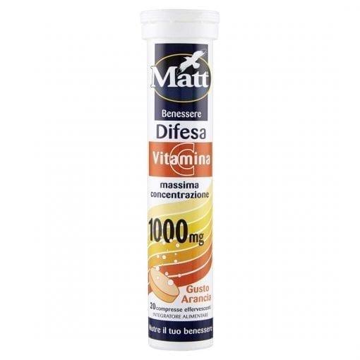 Matt Difesa con Vitamina C