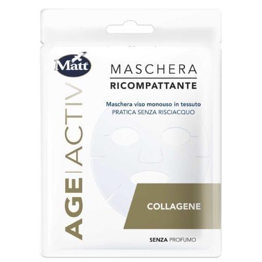 Matt Maschera Ricompattante Collagene