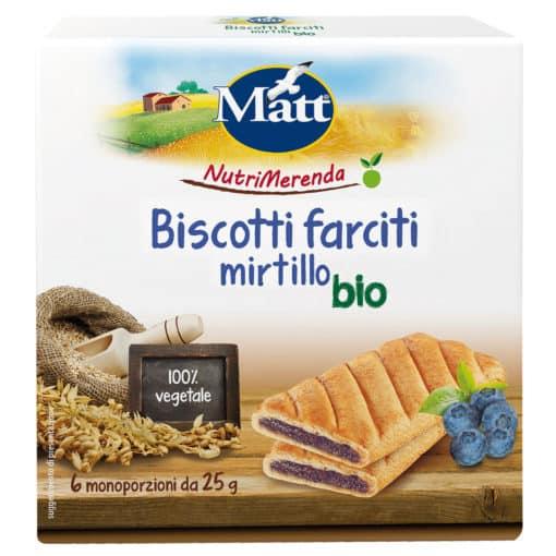 Matt Biscotti Farciti Mirtillo Bio