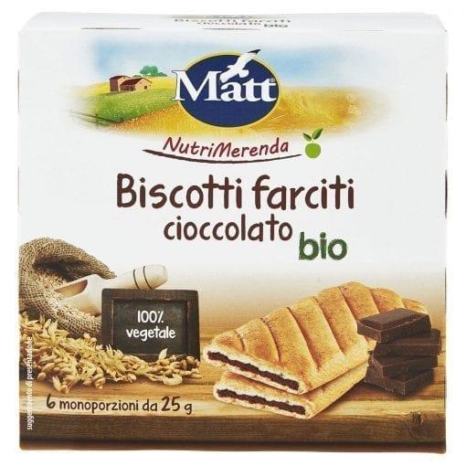 Matt Biscotti Farciti Cioccolato Bio