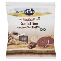 Matt Gallettine Cioccolato al Latte Bio