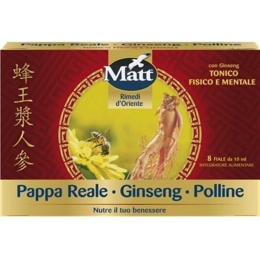 Matt Pappa Reale Polline Ginseng