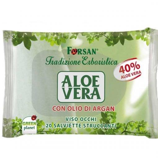 Forsan Salviette Struccanti Aloe Vera