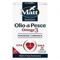 Matt Olio di Pesce Omega3