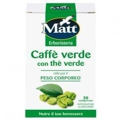 Matt Caffè Verde con Thè Verde