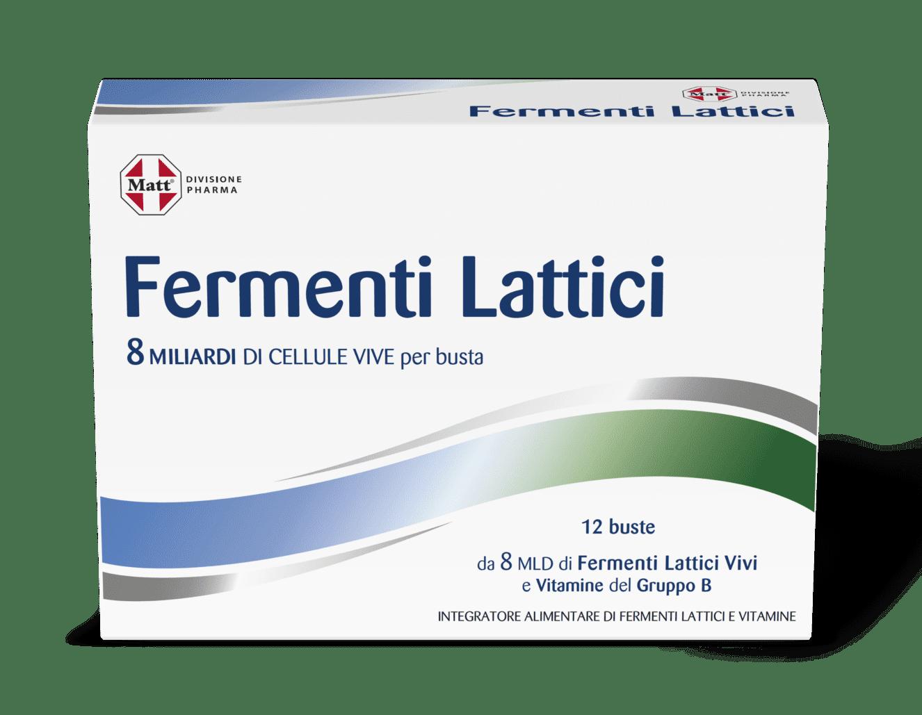 fermenti lattici bustine